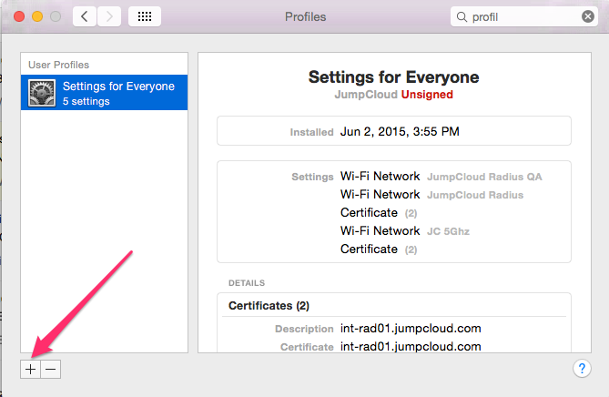 JumpCloud   EAP-TTLS/PAP configuration on Mac & iOS