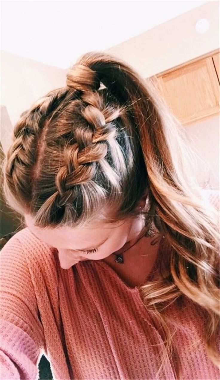 Hair Styles For School Cute and Easy Long Hairstyles for ...