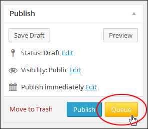 Queue Posts - WordPress Plugin