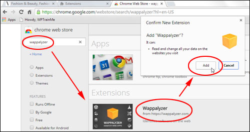 Wappalyzer - Extension For Firefox & Chrome Browser
