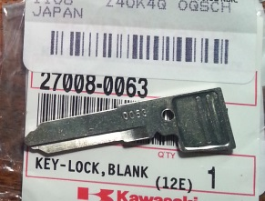 Concours 14 Key and FOB Reference with Kawasaki PNs and more
