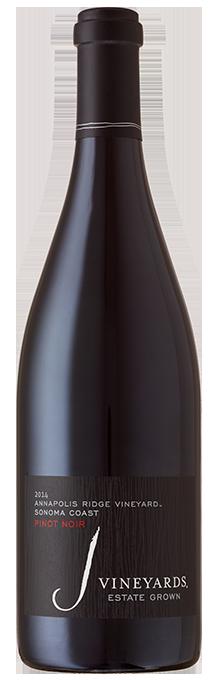 J Pinot Noir, Annapolis Ridge Vineyard