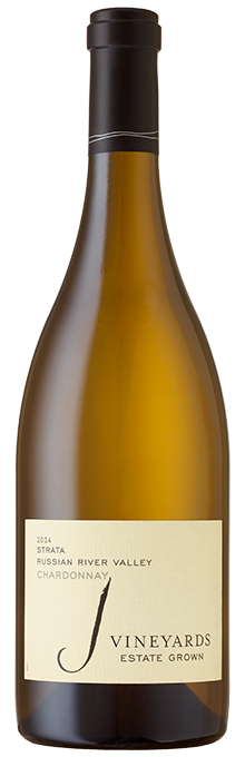 Crisp and focused, the distinctive 2014 J Vineyards STRATA Chardonnay leads with creamy lemon curd, orange zest and tart pear aromatics, backed by subtle hints of oak spiciness.