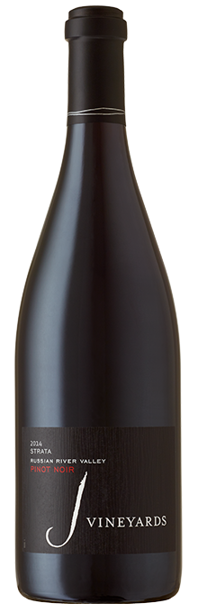 Our STRATA Pinot Noir is terroir-driven with aromas of forest floor and dark cherry.