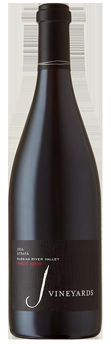 2014 J Pinot Noir, STRATA