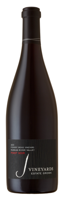 2015 J Foggy Bend Vineyard Pinot Noir, Russian River Valley