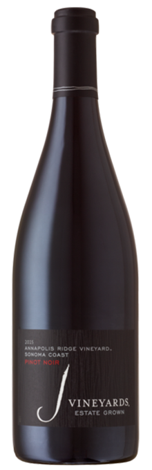 2015 J Pinot Noir, Annapolis Ridge Vineyard