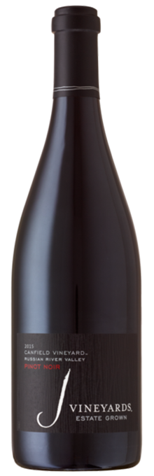 2015 J Canfield Vineyard Pinot Noir, Russian River Valley