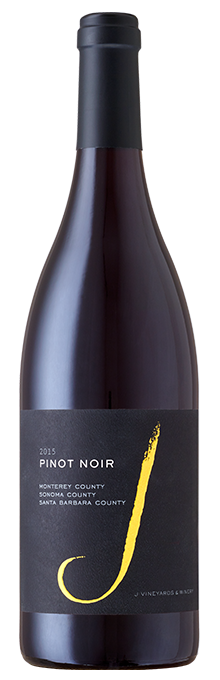 Our 2015 J Vineyards Pinot Noir has aromatic notes of exotic spice, cherry preserves and black tea.