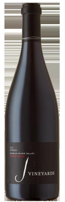 2015 J Pinot Noir, STRATA