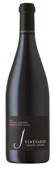 Our 2013 Nicole's Pinot is characterized by rich fruit and mocha notes.