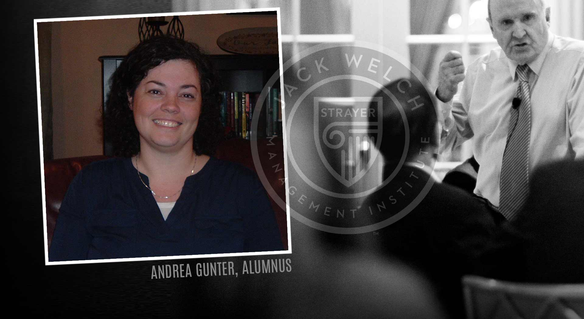 Jack Welch MBA, Andrea Gunter