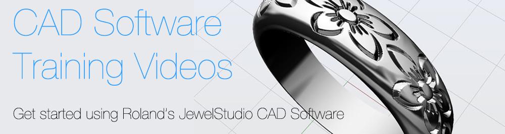 JWX30 COM | CAD Video tutorials for Roland JewelStudio