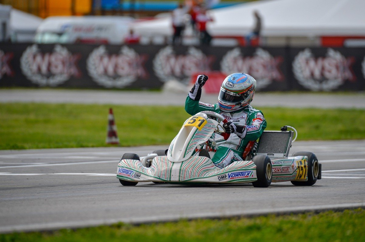 Marco Ardigò is back and winning in Sarno - Kart360