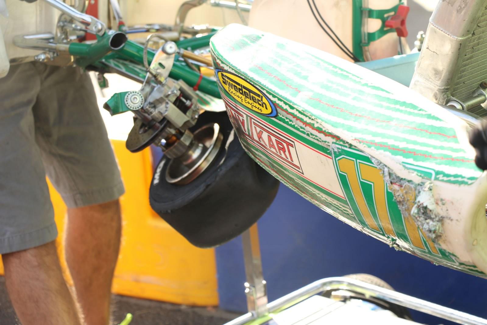 Damanged Tony Kart