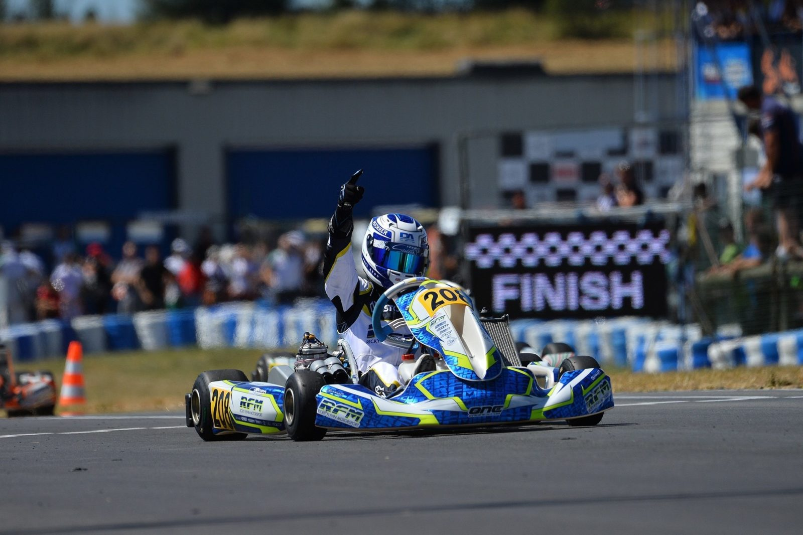 FA Kart is European Champion in OKJ class - Kart360