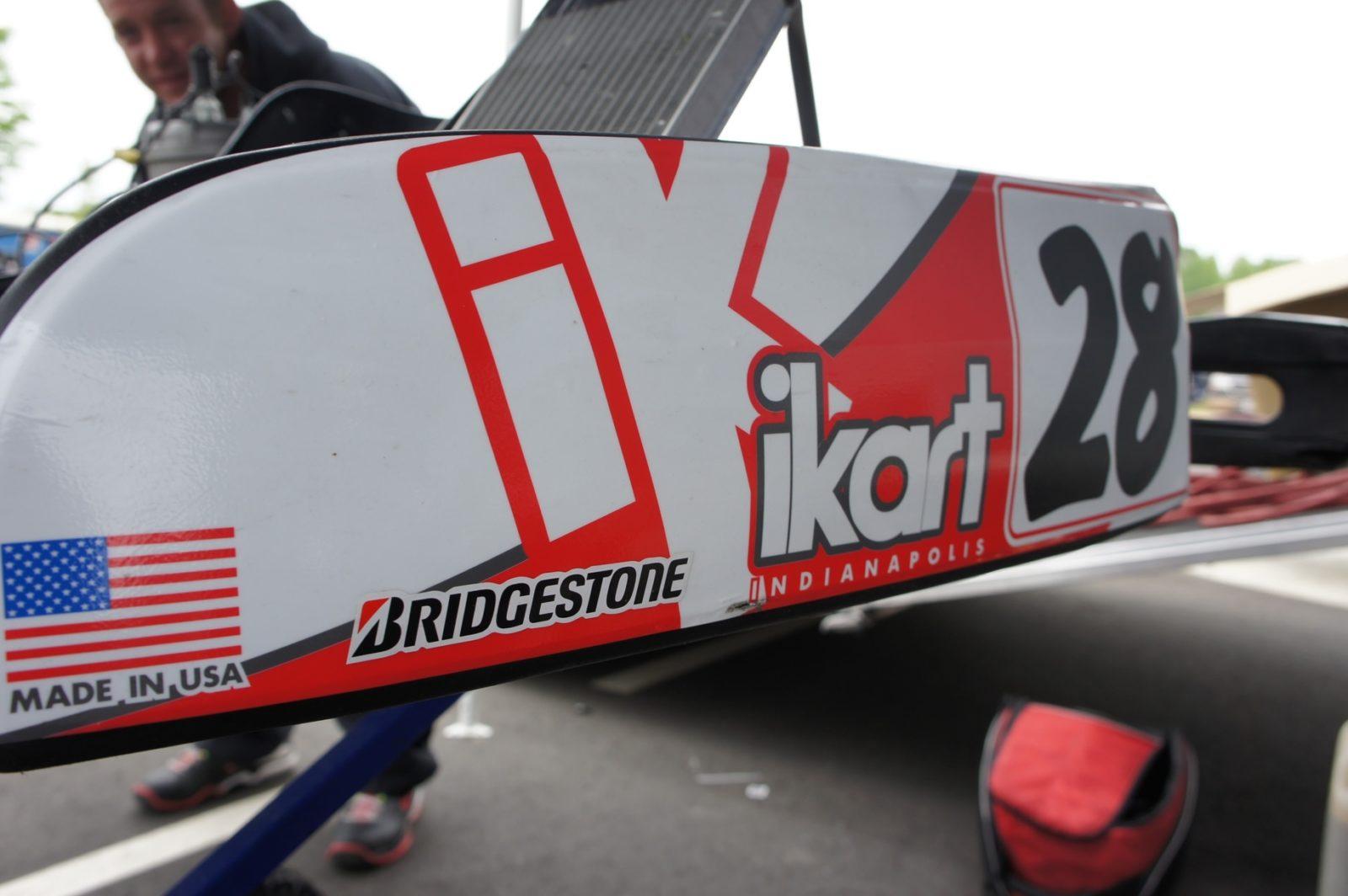 iKart side pod and graphics