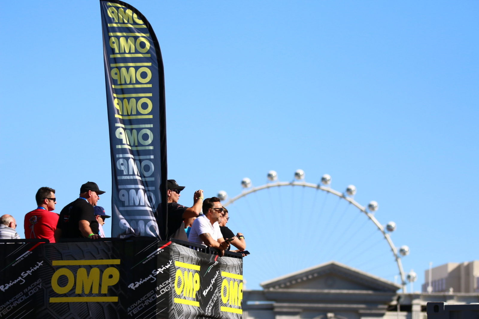 OMP lookout tower and branding at the 2018 ROK The Rio event