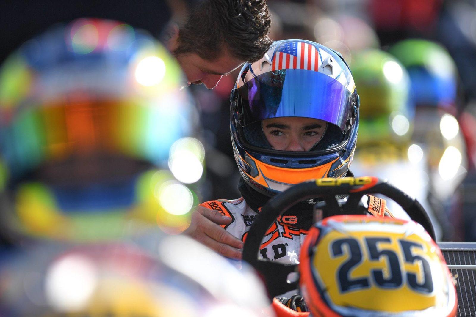 Enzo Scionti 2018 CIK World Junior Championship