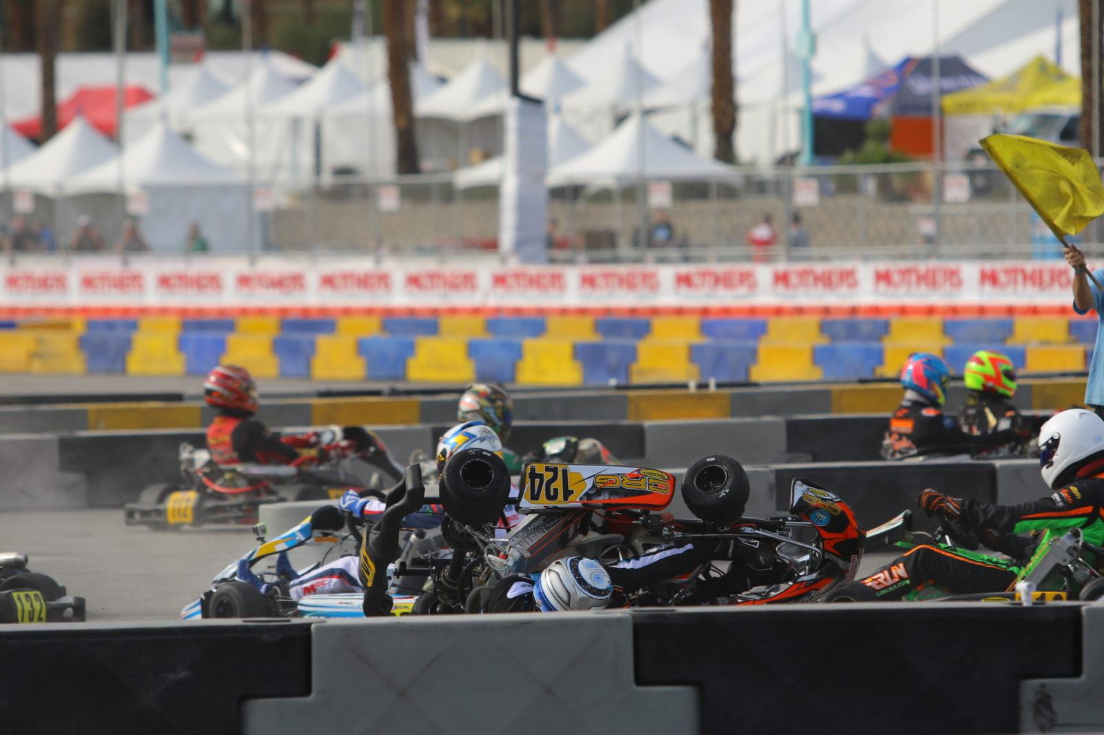 Flipped kart 2018 SKUSA SuperNationals XXII