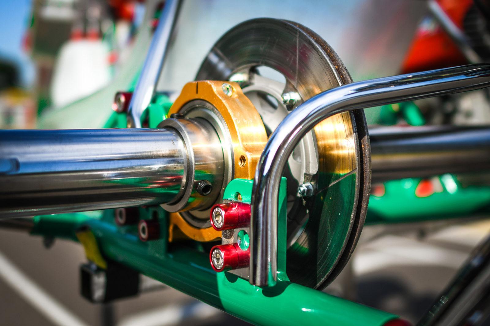 Tony Kart Extreme braking system restored