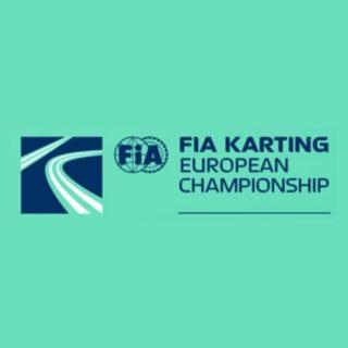 2019 FIA Karting European Championship KZ/KZ2/Academy Round 1 logo