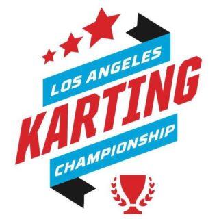 2018 Los Angeles Karting Championship Round 4 logo