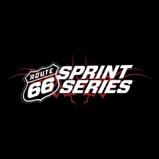 2019 Route 66 Sprint Series Round 2 logo