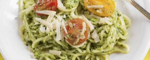 Pesto Zucchini Noddles