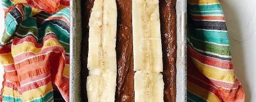 Cocoa Banana Bread
