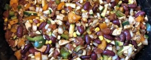 Sos Free Vegan Crockpot Chili