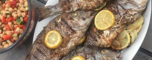 Samak Mashwee - Egyptian Grilled Whole Fish