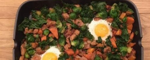 Sweet Potato Skillet Hash