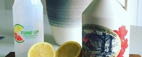 Maple Syrup, Ginger & Lemon Sports Drink