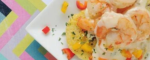 Creamy Shrimp And Polenta
