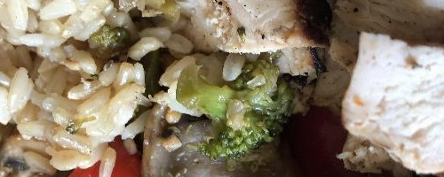 Disassembled Chicken Stir-fry