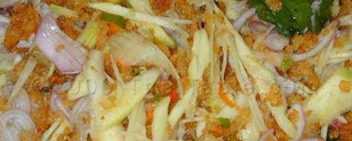 Crispy Catfish Green Mango Salad Recipe