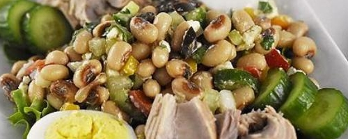 Easy Greek Bean Salad