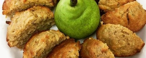 Pear & Ginger Muffins