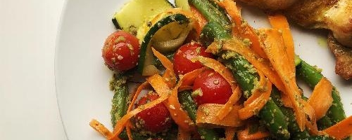 Late Summer Vegetable Picnic Salad