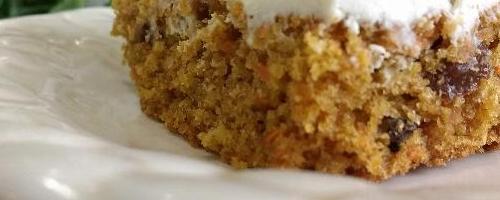 Harvest Maple Carrot Cake