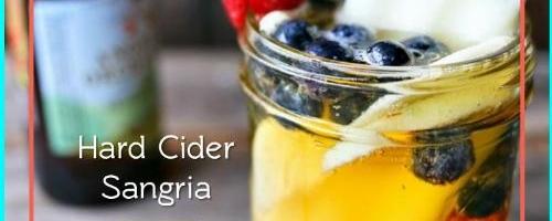 Kiera's Hard Cider Sangria
