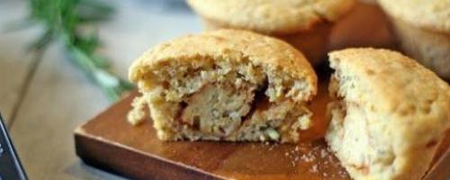 Bbq Tempeh Stuffed Cornbread Muffins