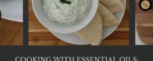 Homemade Tzatziki With Lemon Essential Oil