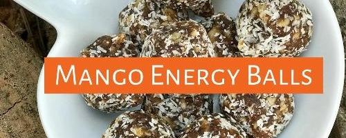 Tangy And Sweet Mango Energy Balls