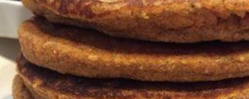 Pumpkin/oatmeal Pancakes