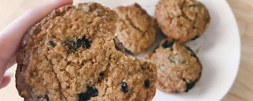 Amazing Vegan Muffins (chocolate Chip Or Blueberry!)