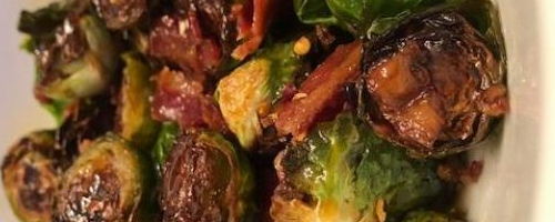 Hot Honey Brussels   Bacon