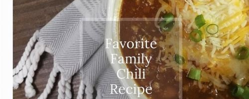 Favorite Family Chili Recipe