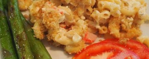 Crab Pasta Bake